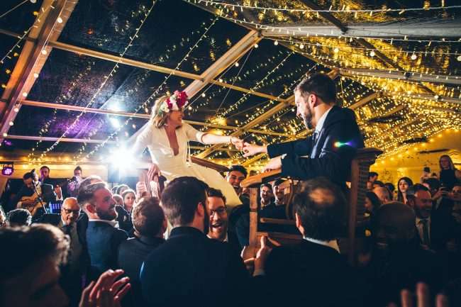 Clear Roof Marquee - Hatch Marquee Hire